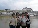 海外旅行(フランス・ロワール川の古城)